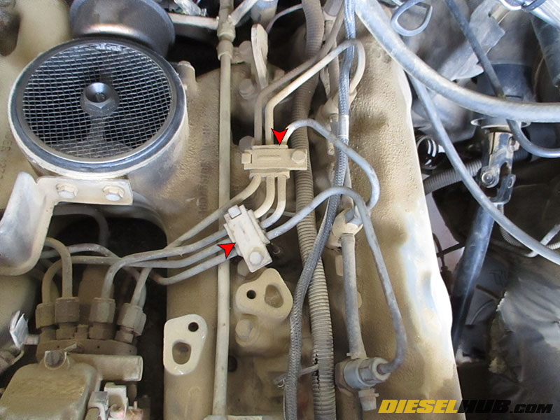 6 9L & 7 3L IDI Diesel Fuel Injector Replacement Procedures