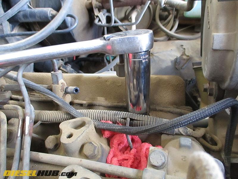 6 9l & 7 3l idi sel fuel injector replacement procedures idi injector  pump wiring harness