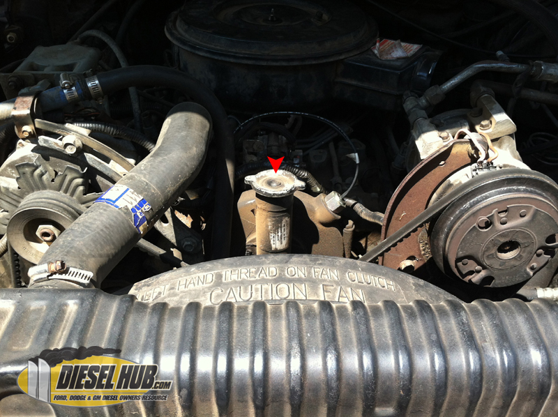 locating engine oil fill