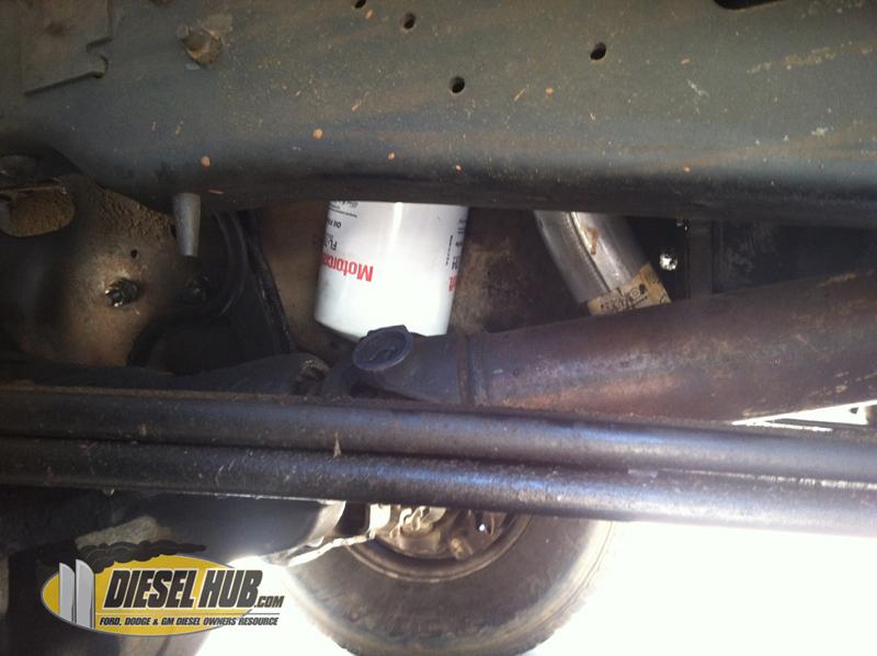 Installing Motorcraft Oil Filter