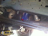 Engine oil filter removal