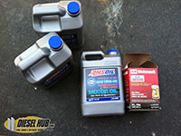 Engine oil and filter selection