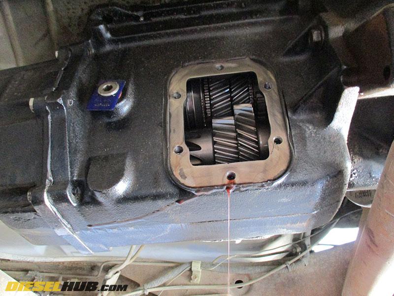 NV4500 Transmission Fluid Replacement Procedures