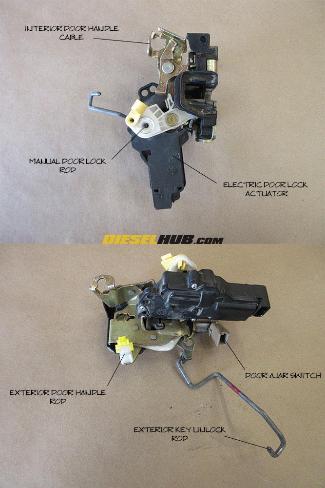 1999 2007 Ford Super Duty Door Ajar Switch Replacement Procedures