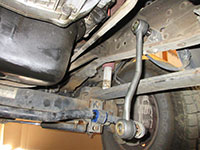 new sway bar link installed