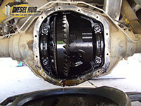 Sterling differential cover removal