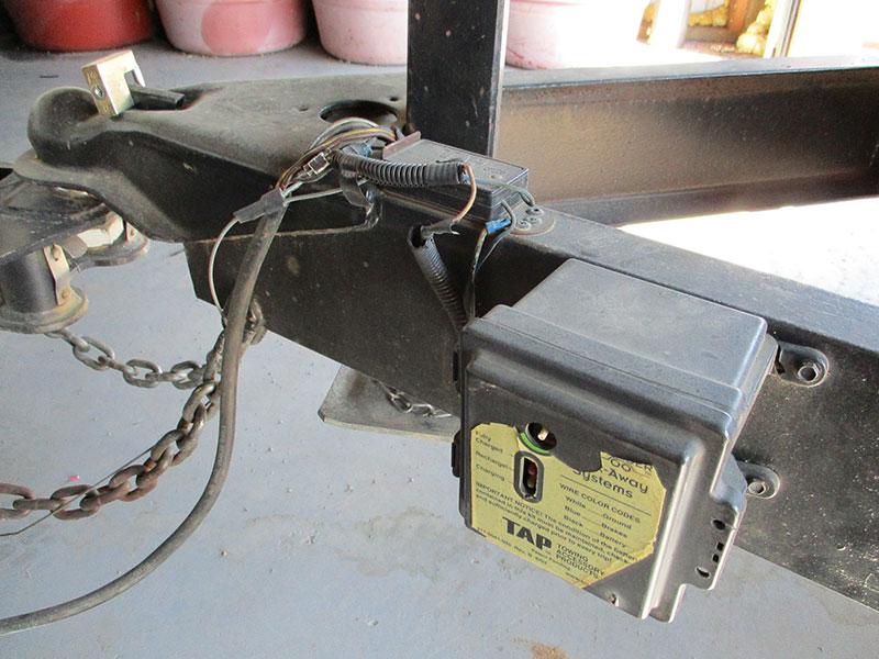 on wiring 7 pin trailer plug
