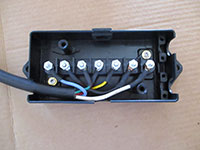 trailer tongue junction box