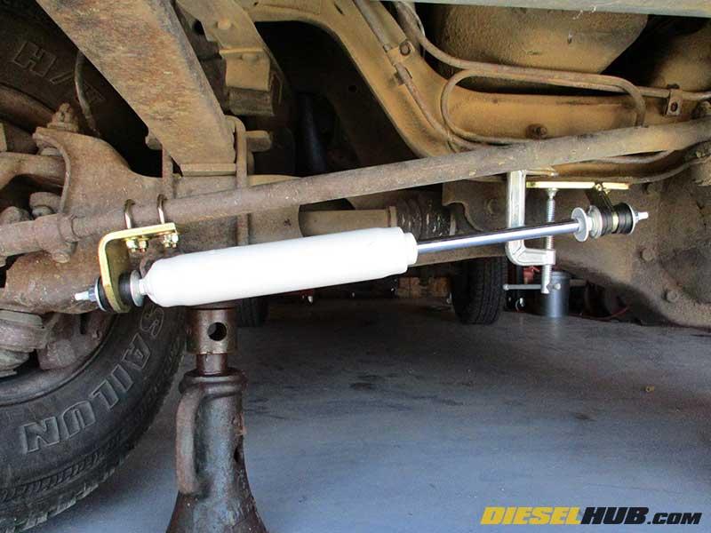 Dana 44 & Dana 50 TTB Steering Stabilizer Installation