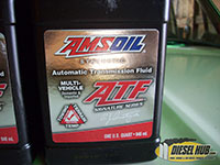 Amsoil synthetic ATF for ZF 5 speed manual transmission