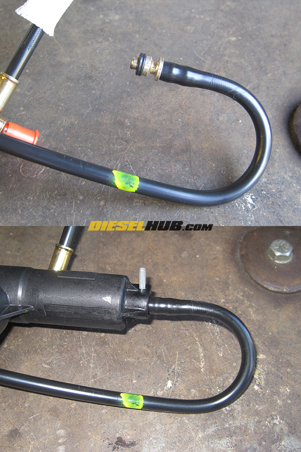 Hydraulic Clutch Line Removal : Zf speed master slave cylinder replacement bleeding guide